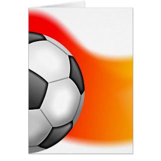 Soccer Ball Greeting Card
