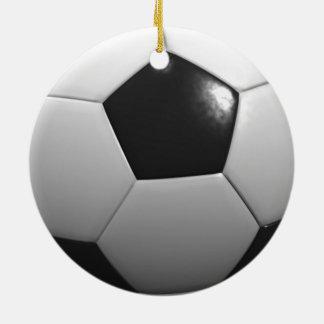 Soccer_Ball,_ Ceramic Ornament