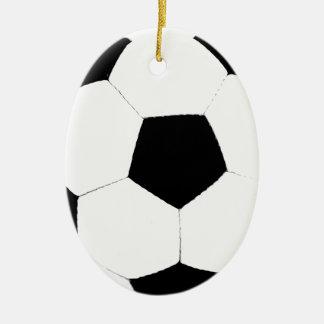 Soccer Ball Ceramic Ornament