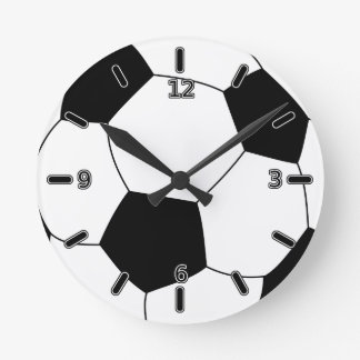 Soccer Ball Clock (With Numbers)