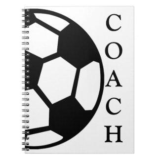 Soccer Ball- Coach Notebook
