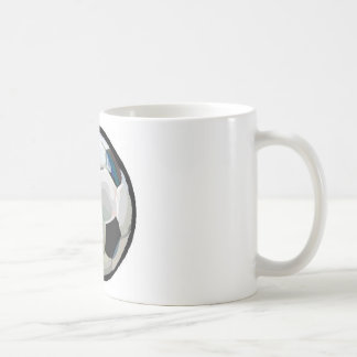 soccer ball coffee mug