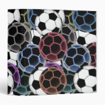 Soccer Ball Collage Binder