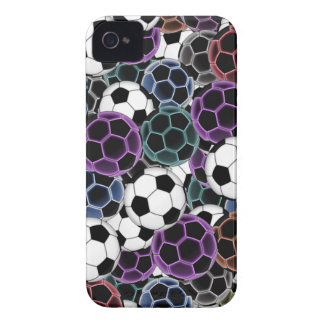 Soccer Ball Collage iPhone 4 Covers