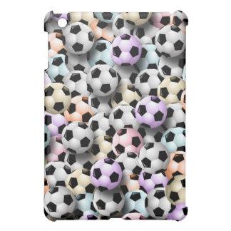 Soccer Ball Collage  iPad Mini Covers