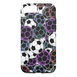 Soccer Ball Collage iPhone 8/7 Case