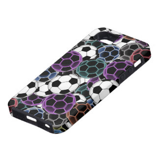 Soccer Ball Collage iPhone SE/5/5s Case