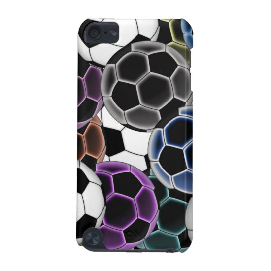 Soccer Ball Collage iPod Hard Shell Case
