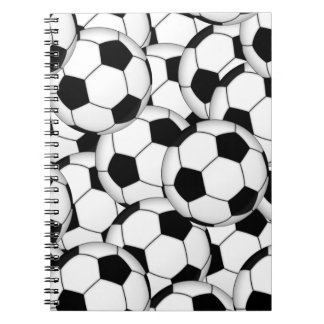 Soccer Ball Collage Notebook