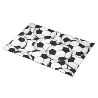 Soccer Ball Collage Placemat