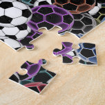 Soccer Ball Collage Puzzles
