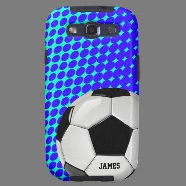 Soccer Ball Custom Samsung Galaxy S3 Case