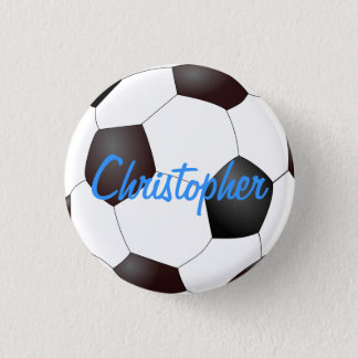 Soccer Ball - Customizable Button
