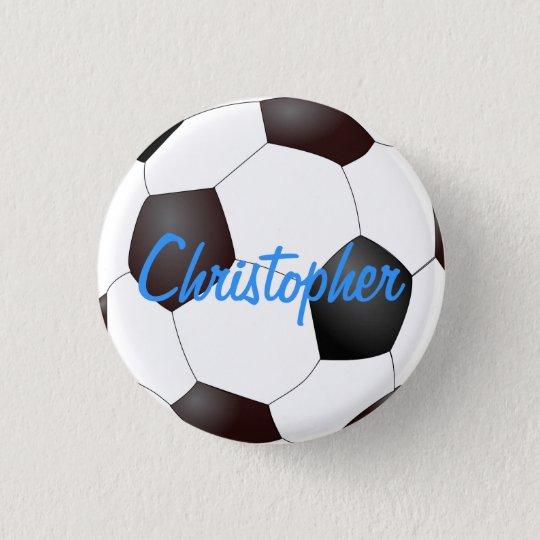 Soccer Ball - Customizable Button