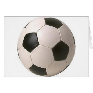 Soccer Ball Customizable Greeting Cards
