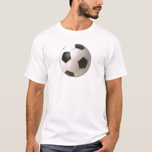 Soccer Ball Customizable T-shirts