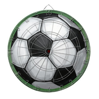 Soccer Ball Dartboard With Darts