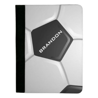 Soccer Ball Design Padfolio