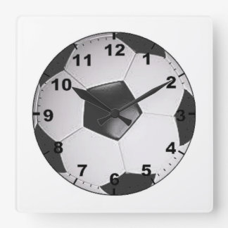 """Soccer ball"" design wall clocks"