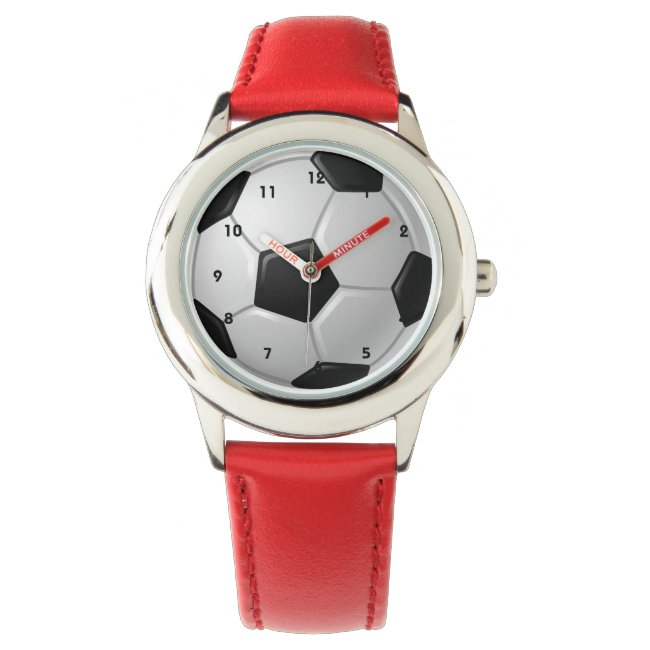 Soccer Ball Design Watch