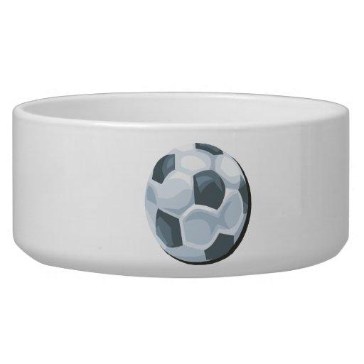 Soccer Ball Dog Water Bowls