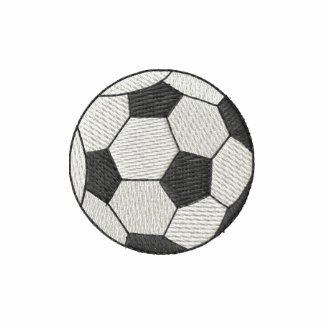 Soccer Ball Embroidered Jackets