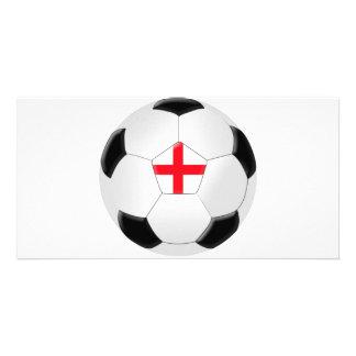 Soccer Ball – England Card