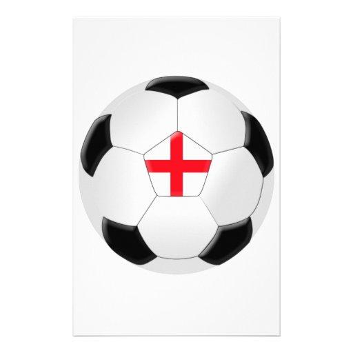Soccer Ball – England Stationery Design