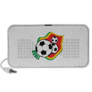 Soccer Ball & Flag Travel Speaker