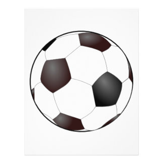 Soccer Ball Personalized Flyer