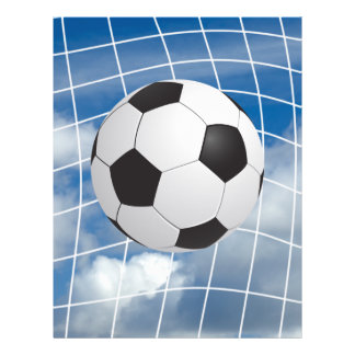 Soccer ball flyer