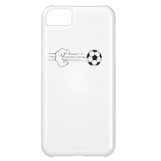 Soccer Ball Flying Through The Air Cover For iPhone 5C