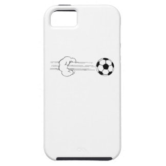 Soccer Ball Flying Through The Air iPhone 5/5S Covers
