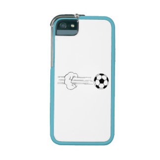 Soccer Ball Flying Through The Air Cover For iPhone 5