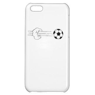 Soccer Ball Flying Through The Air iPhone 5C Cover