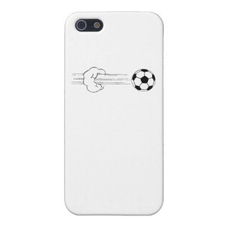 Soccer Ball Flying Through The Air iPhone 5 Case