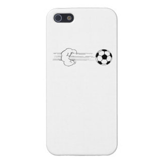 Soccer Ball Flying Through The Air Cases For iPhone 5