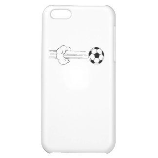 Soccer Ball Flying Through The Air iPhone 5C Cases