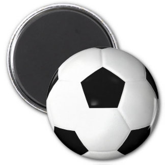 Soccer Ball ( football ) 2 Inch Round Magnet