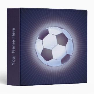 Soccer Ball (football) 3 Ring Binders