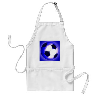 Soccer Ball - Football Ball Adult Apron