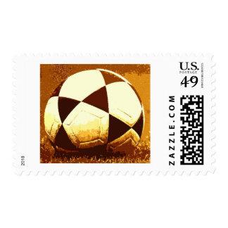 Soccer Ball - Football Ball Postage