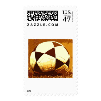 Soccer Ball - Football Ball Stamp