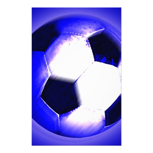 Soccer Ball - Football Ball Stationery Paper