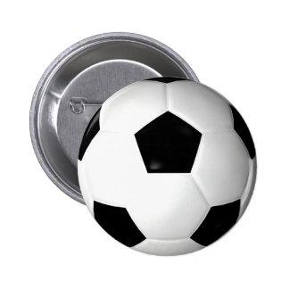 Soccer Ball ( football ) Pinback Button