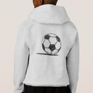 Soccer Ball, Football, Fussball, Team Sport Hoodie
