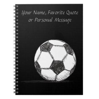 Soccer Ball, Football, Fussball, Team Sport Notebook