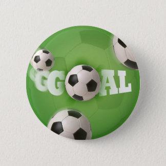 Soccer Ball Football Goal - Button