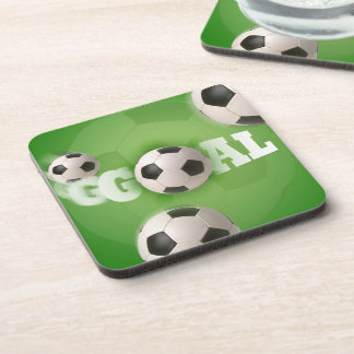 Soccer Ball Football Goal - Coaster