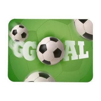 Soccer Ball Football Goal - Flexible Magnet